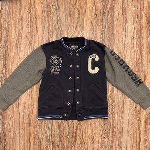 Osh Kosh B'gosh Boys Varsity Jacket Size 6